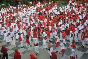 Senam kesehatan menuju Indonesia yang sehat